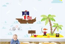 Wall Stickers / Transform your walls with minimal effort with our huge range of easy-to-apply wall stickers.