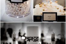 Black& White wedding ideas