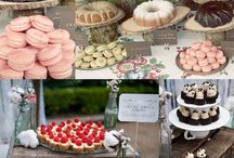 wedding dessert tables / by Lisa Tomasini Downey