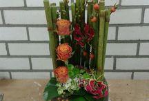 Bloemschik cursus bij De Bloemendeel / Avond creatief bezig zijn en daarna genieten van een mooi bloemstuk
