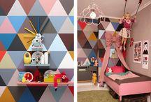 Kid rooms / Sweet, color, vintage kid room.