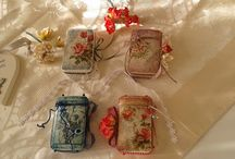 decoupage on soaps