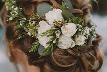 Weddings: flower crowns