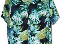 Hawaiian, Tropical & Polynesian Prints / Latest Tropical, Hawaiian Prints Made in Hawaii