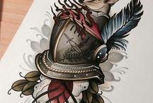 Эскизы татуировки