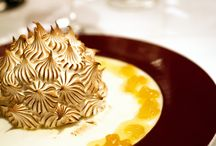 """Baked Alaska / The name """"Baked Alaska"""" was coined at Delmonico's Restaurant by chef-de-cuisine Charles Ranhofer in 1876 to honor the recently acquired American territory of Alaska."""