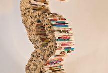 Book Art/Sculptures / by Liz Dyer