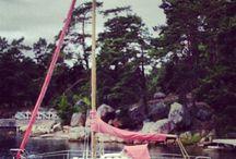 Little Diva sailboat! / Pimp your sail! Www.girliegirlz.se