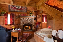 Carolina Log Cabin in Durham, NC / Country accommodations not so far away at the Arrowhead Inn Bed & Breakfast