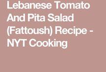 Lebanese/Middle Eastern food