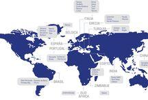 AJCC / En 1995, Antonio José Carreras Costa inícia operaciones en diferentes países no europeos: Brasil, Turquía, Egipto, India y China para importar los mejores materiales de cada país. Con estos materiales se realizan grandes proyectos para clientes locales, nacionales e internacionales. Gracias a ello, ha trabajado con importantes cadenas hoteleras, grandes empresas de construcción y marmolistas profesionales.