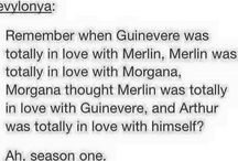 Merlin / The best series in which I have no friends that like it, even know it to be exact.