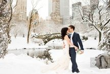 Powder Blue Winter Wedding Ideas