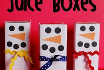 Holiday Lunch Box Ideas / Lunch box love.. just for the holidays <3