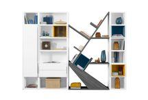 :ϟ: Design & praticité :ϟ: / Un tableau spécial bibliothèques, par allier design et praticité en toutes circonstances et dans toutes les pièces de la maison ! / by Gautier