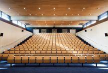 E4000 study benches for Centre de Formation du Ministère de l'Intérieur in Lognes, France