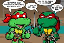 Teenage Mutant Ninja Turtles / All things green and ninja-ry! / by Isobel Balllantyne