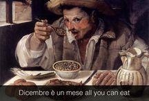 jedzenie malowane