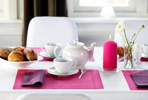 Good morning - goodfoodmood / Start the morning of with an inspiring table setting to greet the day and to let you and your guest enjoy the coffee even more