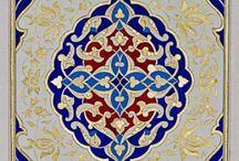 Восточно мусульмансикие узоры
