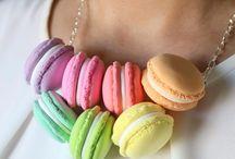 Cute Macarons Necklaces - Handmade