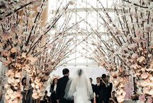 Aisle Style / The most important part of any wedding is the ceremony.  It doesn't matter if yours is a simple 10 minute civil ceremony, a full mass, under a huppah, or a traditional ethnic celebration  you should start your new life together in style!