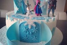 Gateau reine des neiges