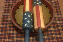 Painted Rolling Pins