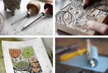 Woodcut / Woodcuts by printmakers based in the UK