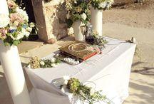 Cape Sounio / Ανθοστολισμός και διακόσμηση γάμου - βάφτισης στο Cape Sounio
