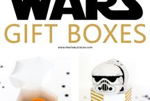 Star Wars / Party printables, gift ideas and recipes with a Star Wars theme