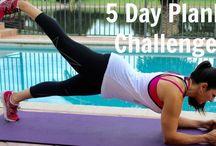 5 Day Plank Challenge