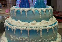 "Hannah's ""Frozen"" Cake"