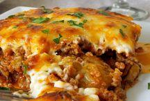 mezze + plats grec / libanais salées / mezze + plats grec / libanais salées