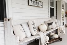 Outdoor Living / Vintage in your outdoor living spaces. Rustic. Romantic. Victorian. Country.