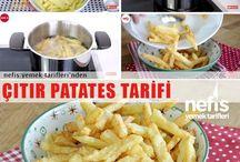 çıtır patateste