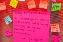 #PositivePostIts to brighten your day! / October 9th 2015 was declared #PositivePostItDay by the city of Airdrie, #AB in honour of Caitlin Prater-Haacke's inspirational movement. The campaign calls for people to pick up a Post-it, write a note of encouragement and brighten someone else's day. This board is a collection of positive ways to make a difference in someone else's day. :)    Read more: http://calgary.ctvnews.ca/positive-post-it-campaign-sticks-it-to-bullying-1.2047079#ixzz3Fm3nPbJO / by Post-it® Brand Canada