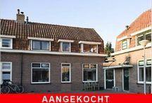 Huis gekocht - Aangekocht  / Woningen die met behulp van Zomer Makelaars zijn gekocht.