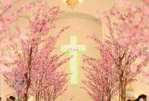 Dekoracje kościoła // Church decorations