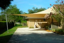 Shade Sails / Tensioned Fabric Awnings