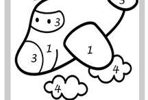 Pintar com números