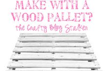 Pallet ideas / by Kay Cox