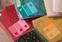 Bonnie Hunter Grand Illusion Mystery Quilt 2014 / Fabrics picked out!!!