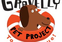 Gravelly Pet Project - United Paws / When you buy from Gravelly Pet Project, 20% of your purchase goes to your designated pet rescue organization.  Check out our partners, see all the great work they do and support them with your purchase!    http://gravellypetproject.com/shop/