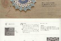 Coasters and mini coasters (mini doily) / Small Coasters, Crochet Supplies, Gift Decor, Home Decor, Mini Doily, Small Doily