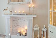 False fireplace