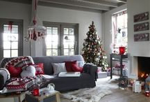 Grey and Red Christmas