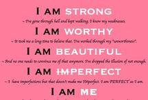 Quotes- Inspired - Empowering / Inspiring and empowering quotes mostly for women.