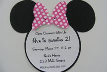 Minnie Mouse birthday / Party