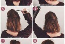 Волосы средней длины